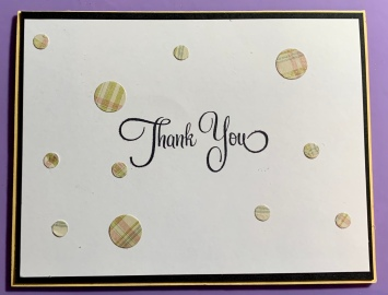 #10 Thank You Card