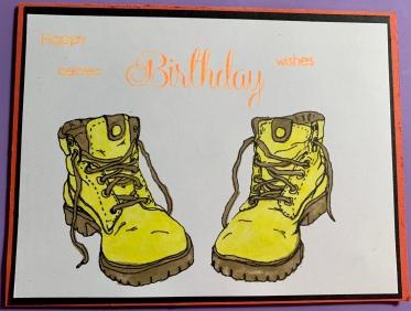 "#10 ""Jeep"" Handmade Belated Birthday Card"